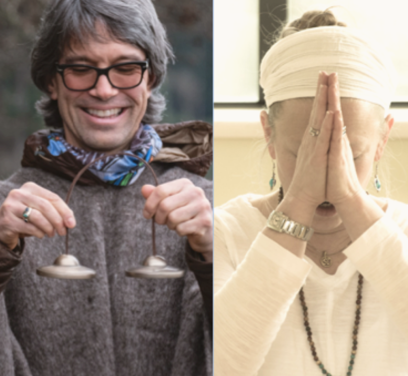 Restorative Yogic Practices and Gong Meditation with Benjamin Bollich and Jay Suttonbrown