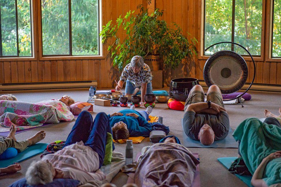 Tibetan Singing Bowl and Gong Meditation Jan 16